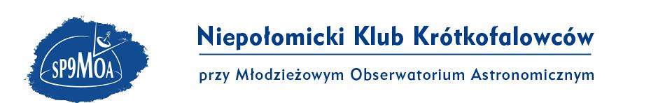SP9MOA - Niepołomicki Klub Krótkofalowców przy Młodzieżowym Obserwatorium Astronomicznym